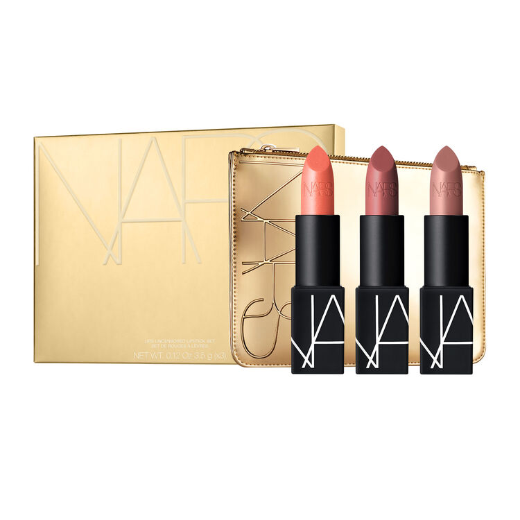 Lips Uncensored Lipstick Set,